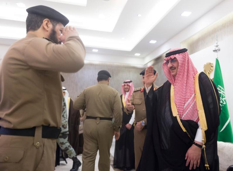 استقبال قادة قطاعات أمن الحج