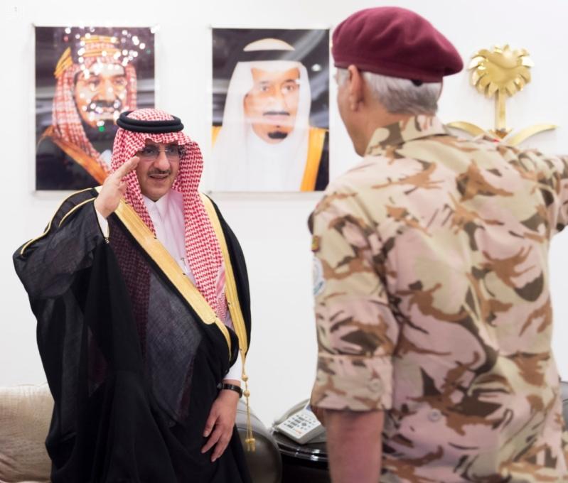 استقبال قادة قطاعات أمن الحج1
