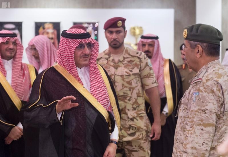 استقبال قادة قطاعات أمن الحج2