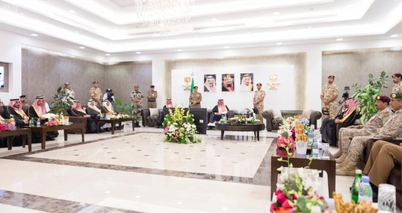 استقبال قادة قطاعات أمن الحج4