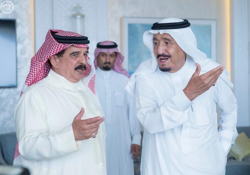 استقبال ملك البحرين في المغرب10