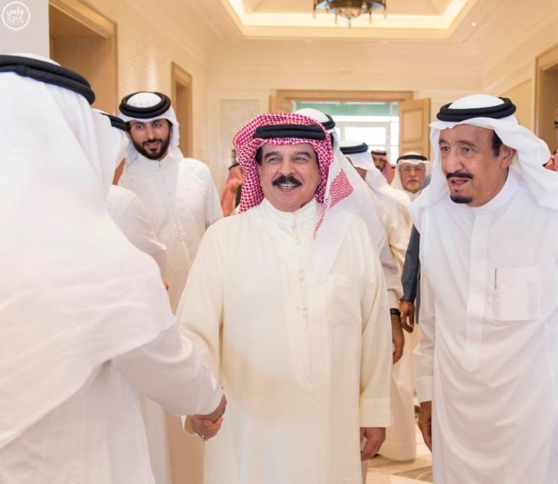 استقبال ملك البحرين في المغرب11
