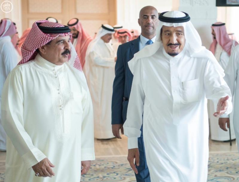 استقبال ملك البحرين في المغرب13