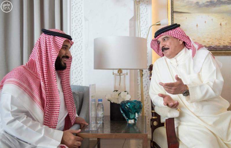 استقبال ملك البحرين في المغرب2