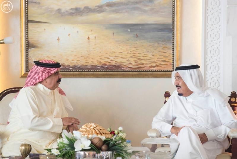 استقبال ملك البحرين في المغرب4