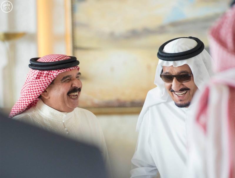 استقبال ملك البحرين في المغرب5