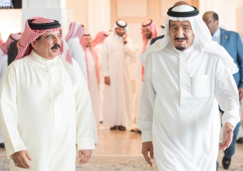 استقبال ملك البحرين في المغرب6