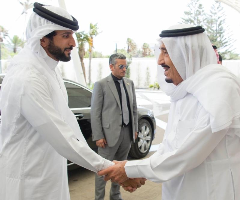 استقبال ملك البحرين في المغرب8
