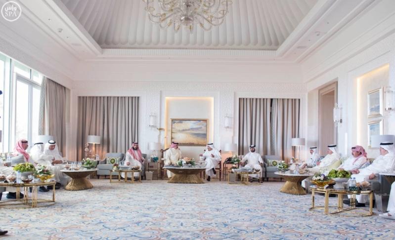 استقبال ملك البحرين في المغرب9