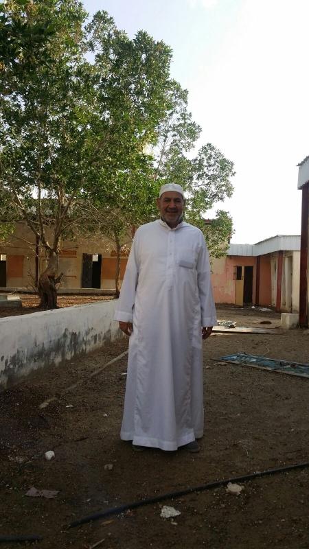 استقبل مجموعة من المواطنين في محافظة جدة معلمهم 4