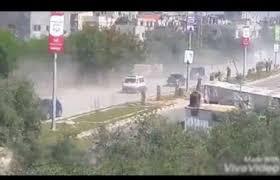 شاهد.. لحظة استهداف موكب الحمد الله في غزة - المواطن