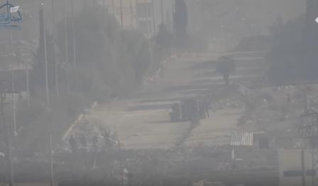 استهداف عناصر الأسد بصاروخ تاو
