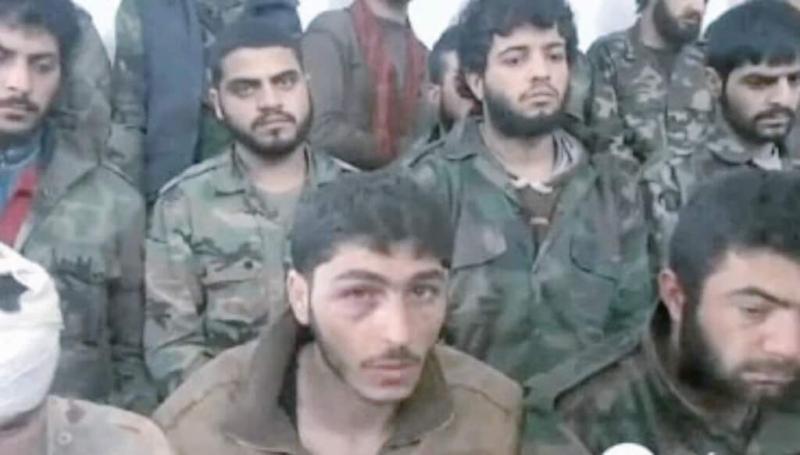 اسر العشرات من قوات الأسد