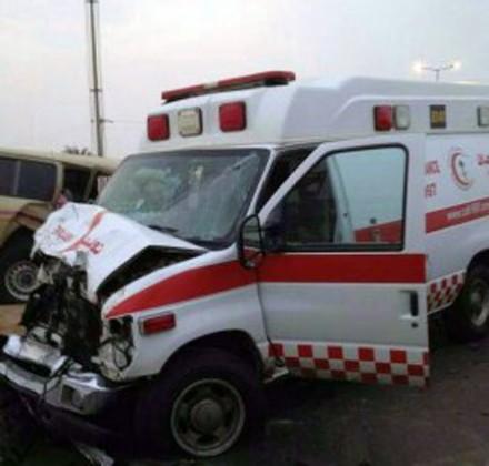 حادث اسعاف