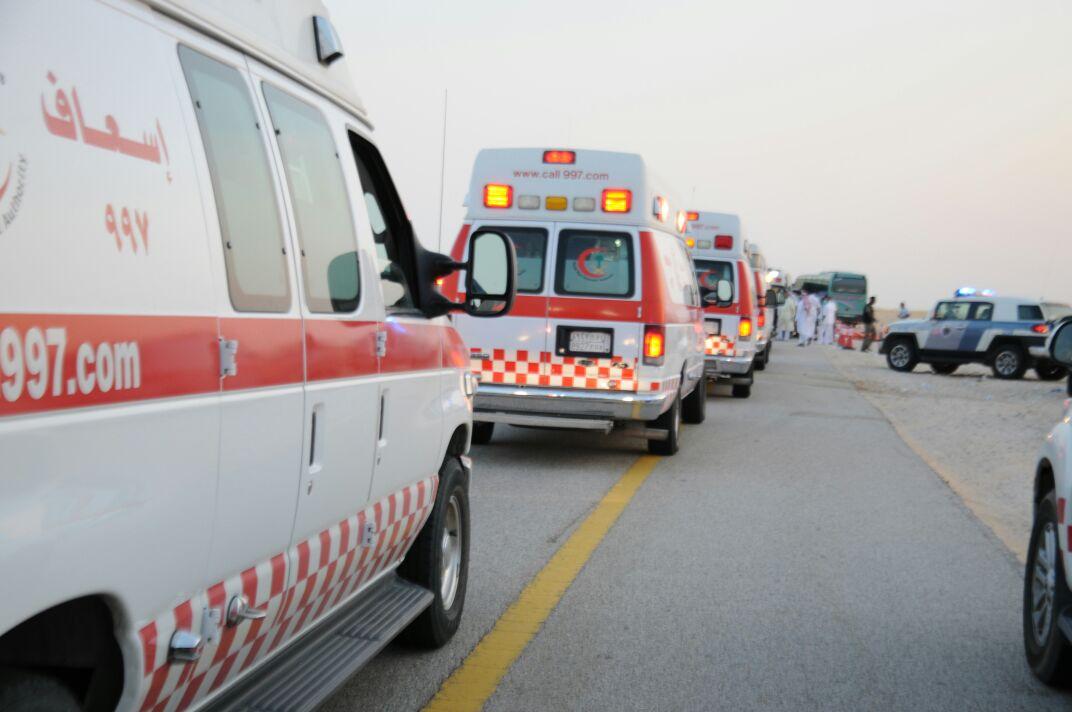 5 إصابات في حادث سير على طريق أبو حدرية- الجبيل - المواطن