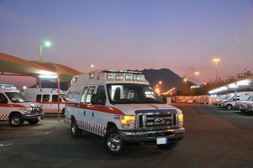 3 فِرَق إسعافية تُنقذ 4 مصابين أحدهم حالته خطرة بـ #الأضارع - المواطن