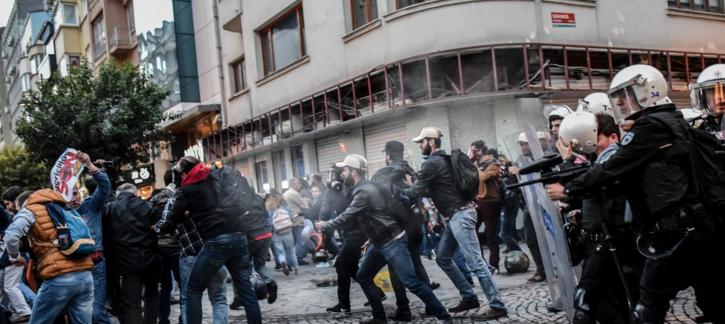 اشتباكات في اسطنبول