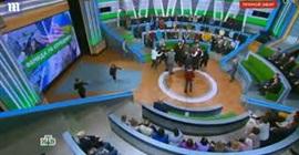 شاهد.. اشتباك بالأيدي في برنامج تلفزيوني على الهواء - المواطن