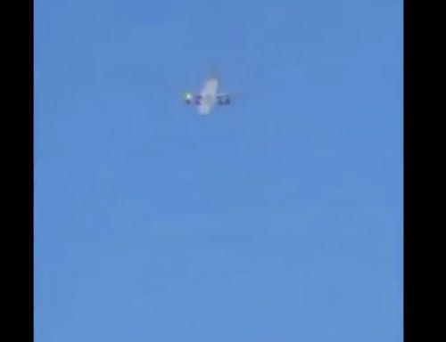 اشتعال الطائرة القطرية