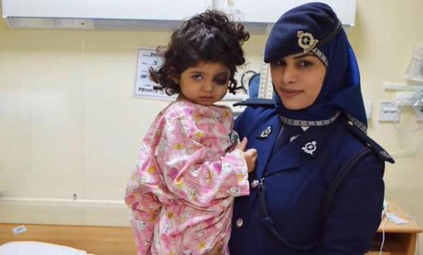 اصابة-طفلة-سعودية-برصاصة