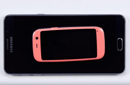 اصغر هاتف اندرويد في العالم (2)