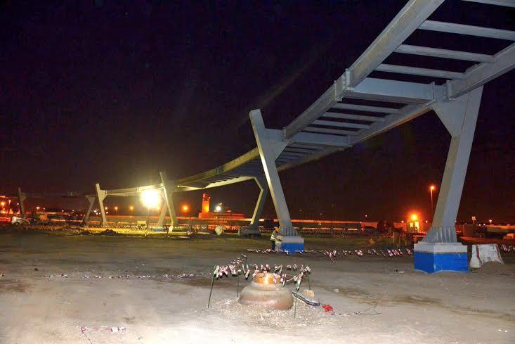 اطول جسر مشاة في مكة 1