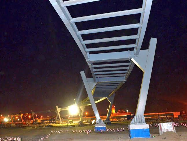 اطول جسر مشاة في مكة