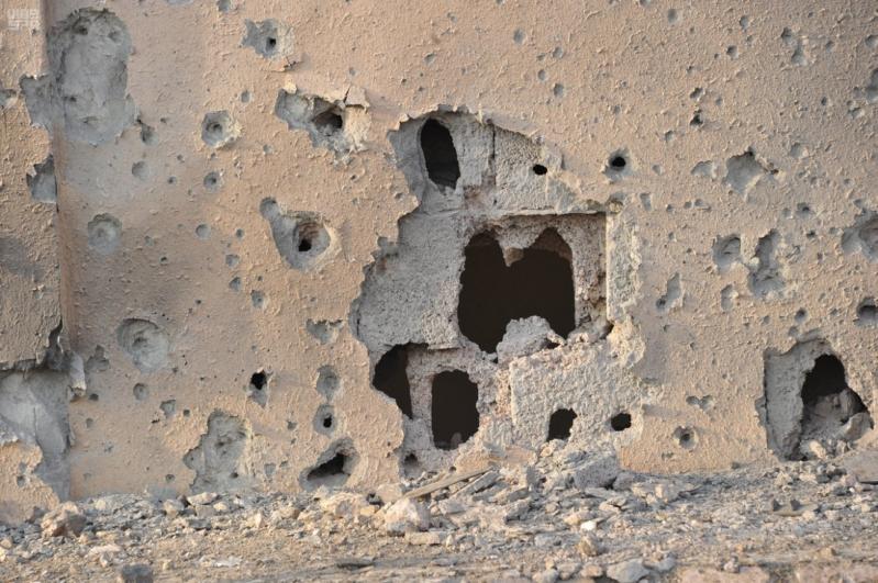 اعتداءات المليشيات الحوثية على قرى جازان (11)