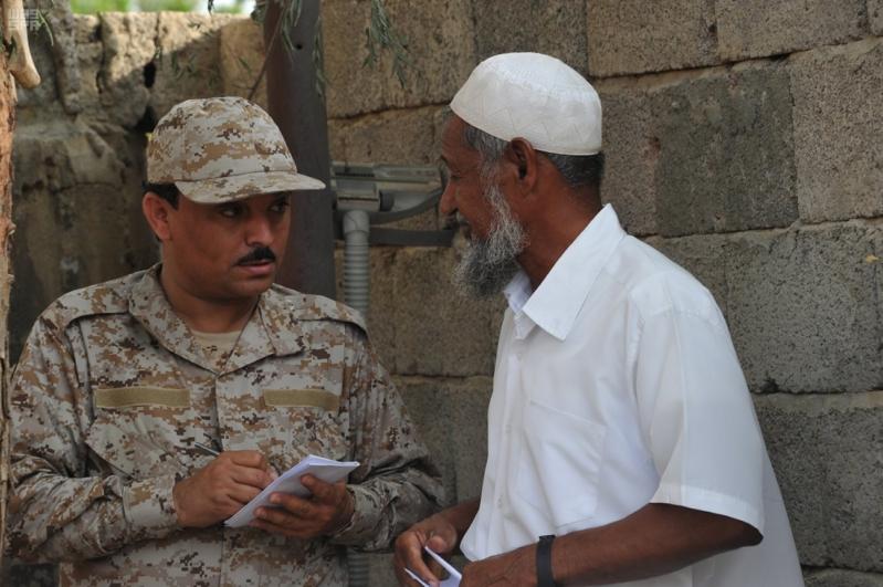 اعتداءات المليشيات الحوثية على قرى جازان (5)