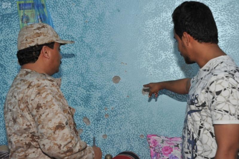 اعتداءات المليشيات الحوثية على قرى جازان (6)