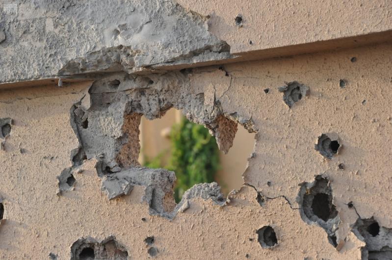 اعتداءات المليشيات الحوثية على قرى جازان (9)