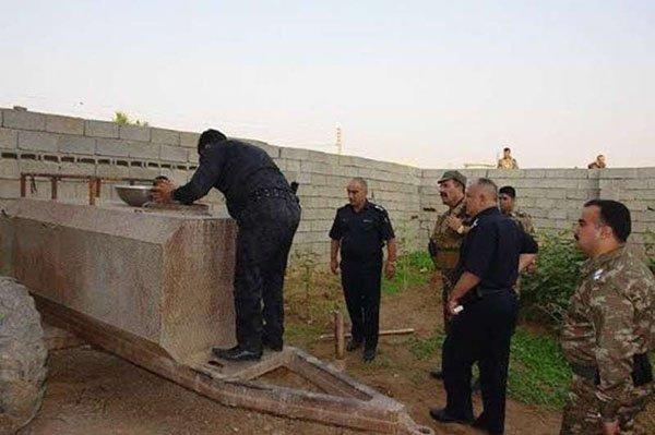 اعتقال ابن خالة صدام حسين (1)