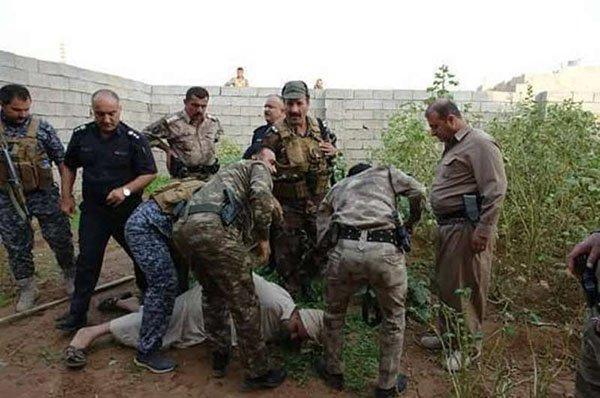 اعتقال ابن خالة صدام حسين (5)