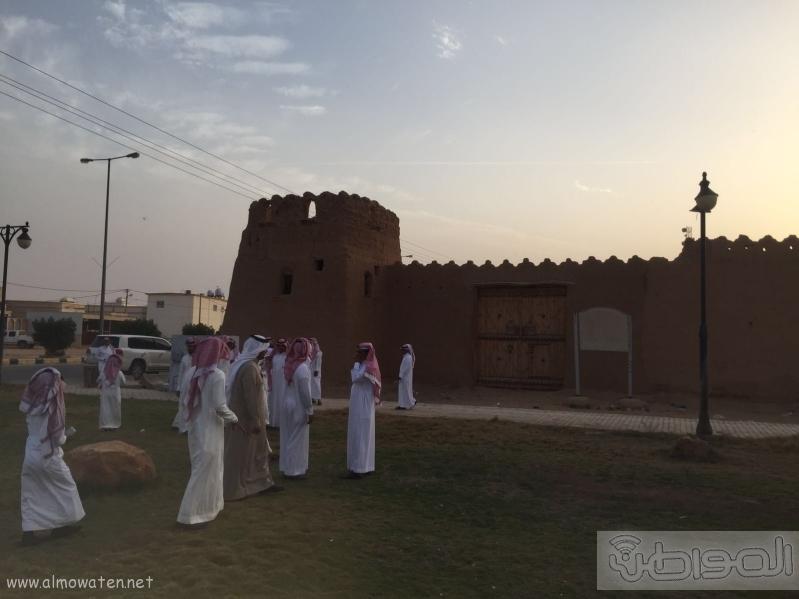اعلاميون القصيم يزورون مركز قبة المعالم السياحية (2)