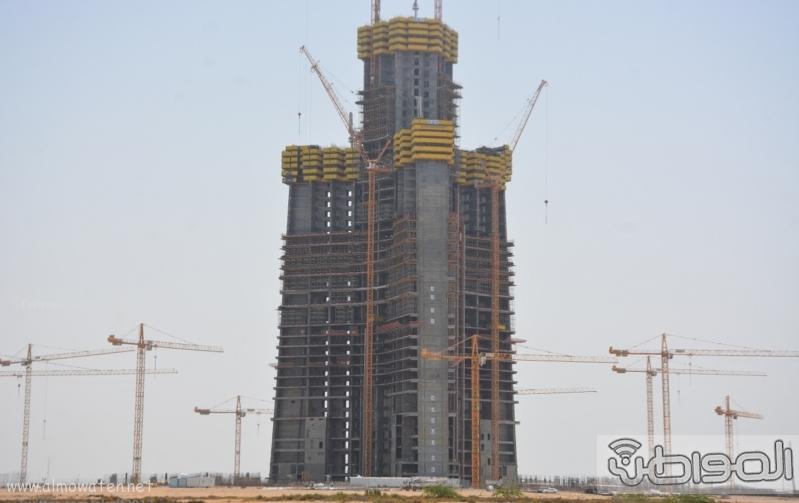 اعلى برج بالعالم بمدنية جدة الاقتصادية برج الوليد (10)