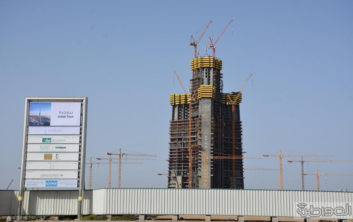 اعلى برج بالعالم بمدنية جدة الاقتصادية برج الوليد (4)