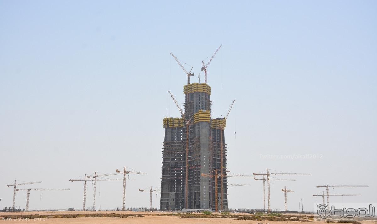 اعلى برج بالعالم بمدنية جدة الاقتصادية برج الوليد (7)