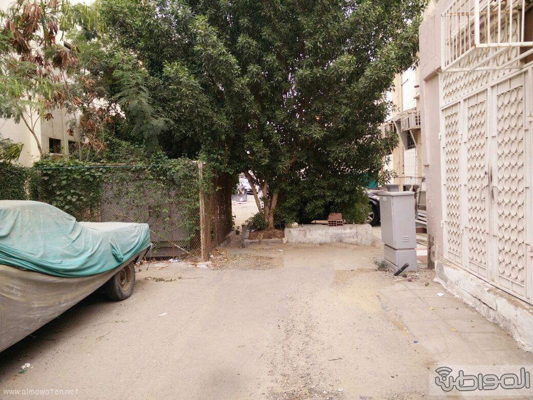 اغلاق شارعين بحي الروضة بجدة (2)