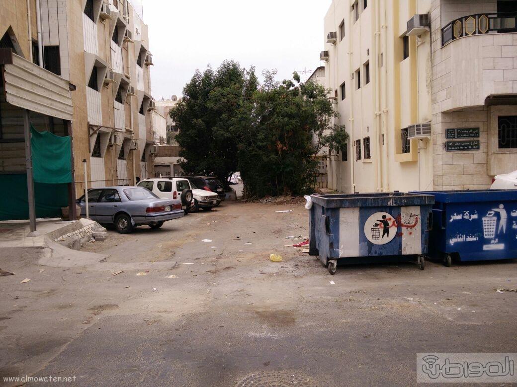 اغلاق شارعين بحي الروضة بجدة (5)