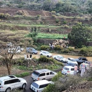 اغلاق طريق قرى بني مازن (31195650) 