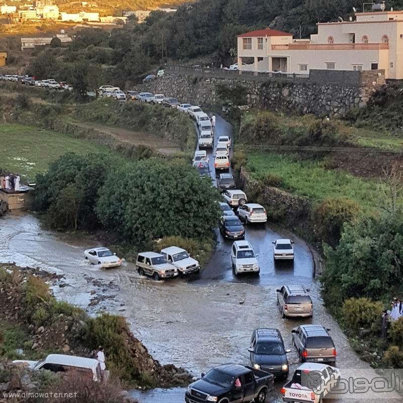 اغلاق طريق قرى بني مازن  (31195654) 
