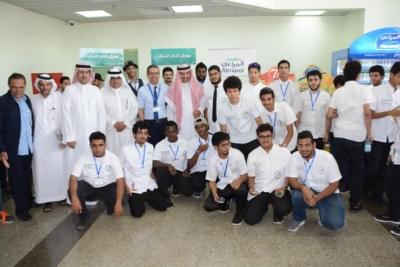 افتتاح التاجر الشاب بتقنية جدة بمشاركة القطاعين الخاص والعام1