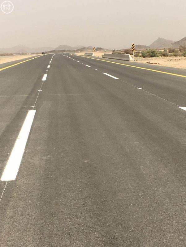 افتتاح المرحلة الاولى من مشروع الطريق