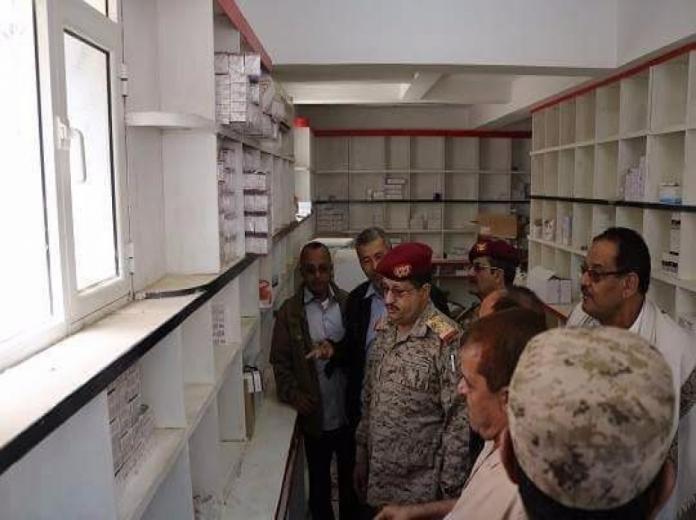 -المستشفى-العسكري-في-مأرب-بعد-إعادة-تأهيله
