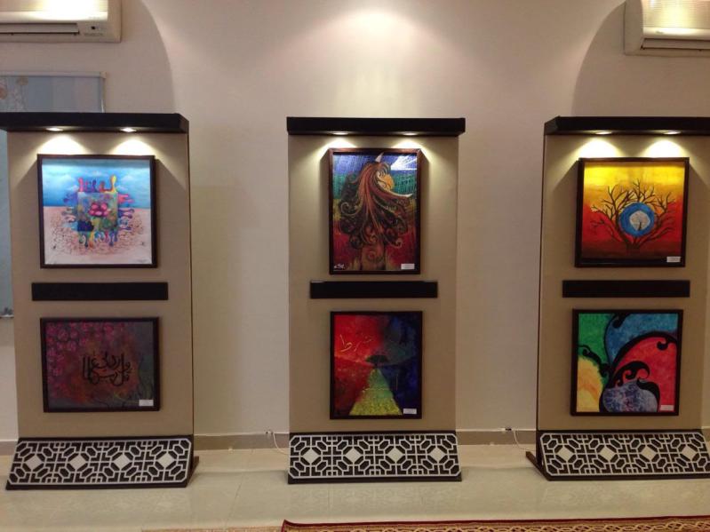 400 لوحة فنية بافتتاح المعرض الفني للمشاريع الوزارية بـ #مكة_المكرمة