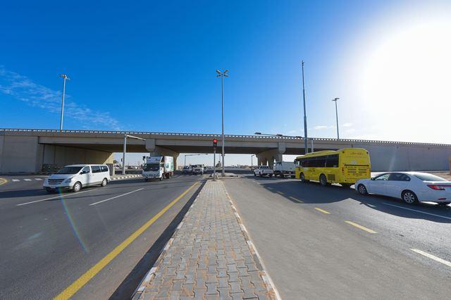 افتتاح تقاطع طريقي الملك عبدالله والملك سلمان بالقصيم (1)