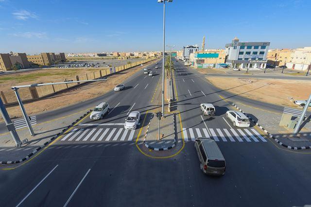 افتتاح تقاطع طريقي الملك عبدالله والملك سلمان بالقصيم (3)