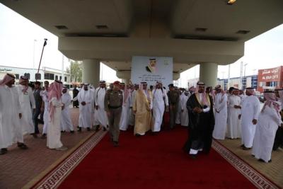 افتتاح جسر طريق الملك فهد بـ #سكاكا