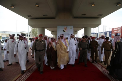 افتتاح جسر طريق الملك فهد بـ #سكاكا1