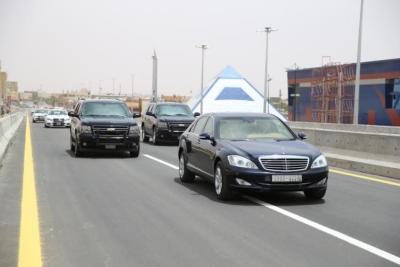 افتتاح جسر طريق الملك فهد بـ #سكاكا3